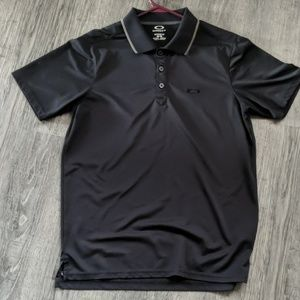 Oakley Men's Medium Black Polo
